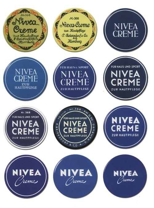 NIVEA logotipi kroz istoriju
