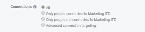Facebook oglašavanje: Odabir kome će se prikazivati oglas