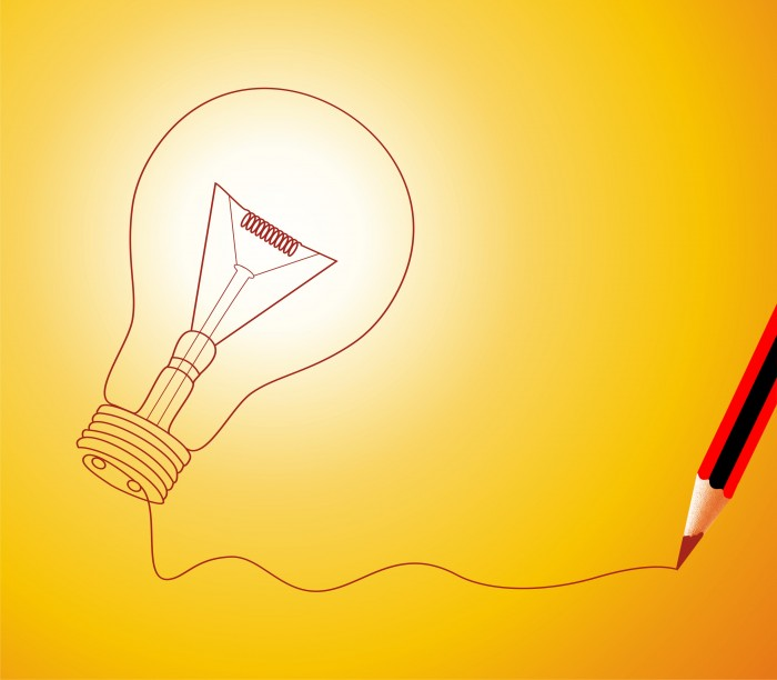 innovation light bulb idea think