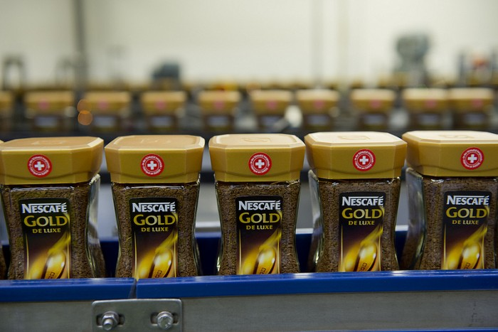 Nescafe production line