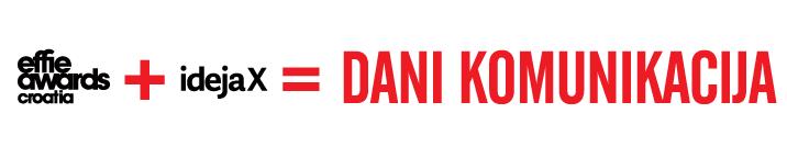 dani komunikacija logo IdejaX Effie