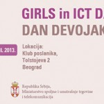 girls in ICT Digitalna Agenda 2013