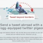 Fogg card tweet pigeon