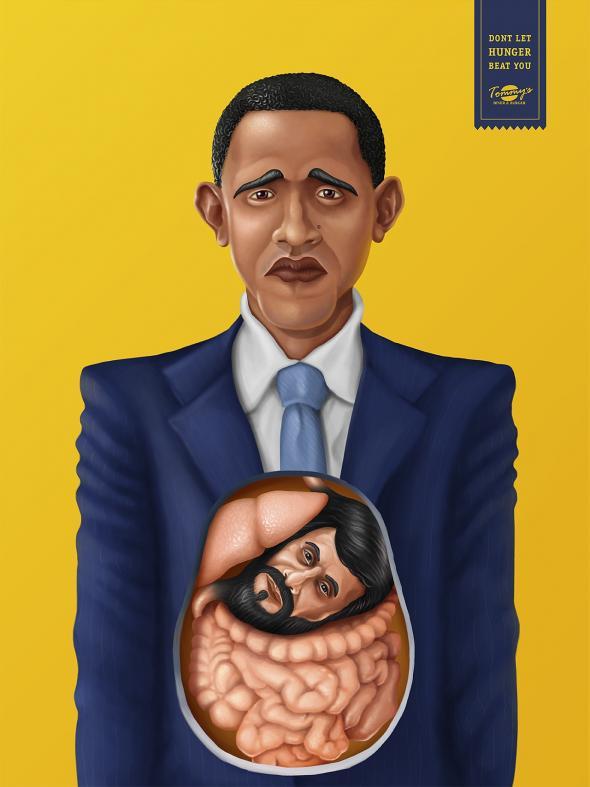 Tommys Diner Burger Obama