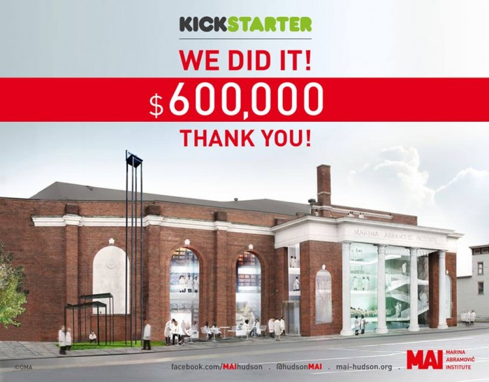 Marina Abramovic Institute  The Founders by Marina Abramovic Institute — Kickstarter