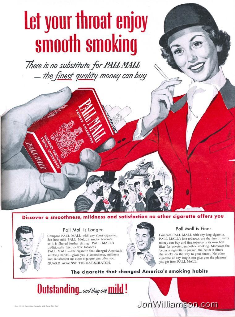 """""""Let your throat enjoy smooth smoking"""""""