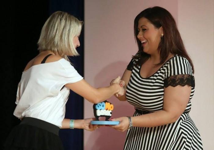 Rajma Isljami prima nagradu SoMo Borac u ime Executive Group