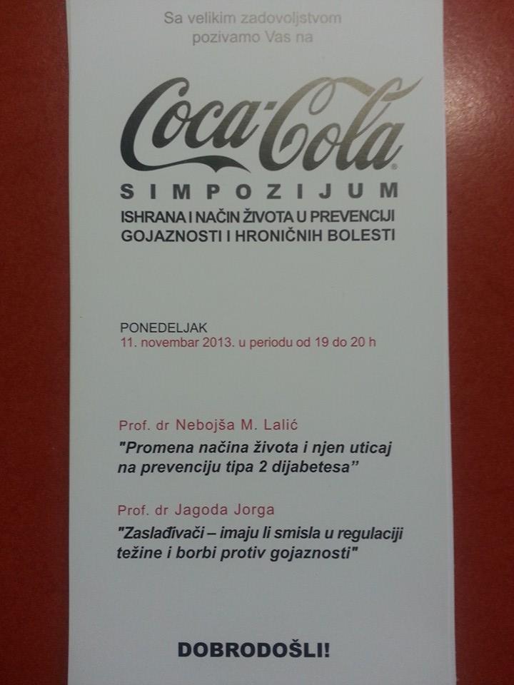 coca cola simpozijum