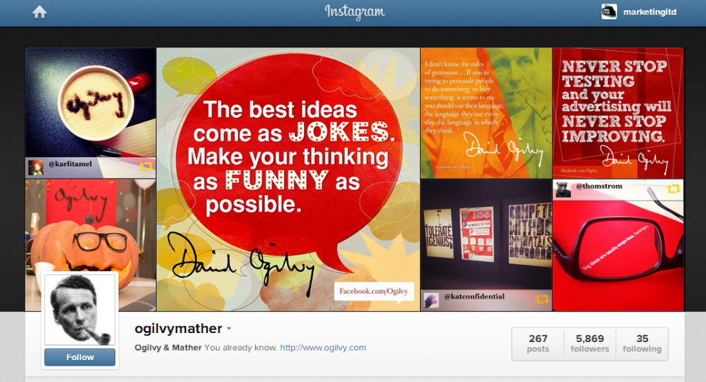 ogilvymather on Instagram