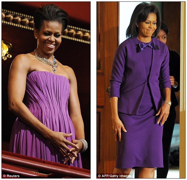 Pantone s color of year daily mail michelle obama