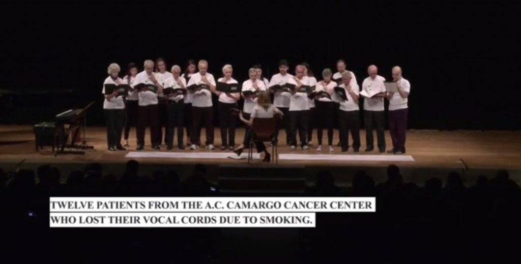 camargo cancer center choir brazil