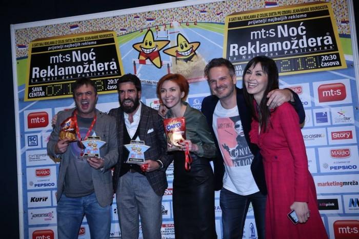 noć reklamozdera chipsy domacinski 2013 dodela nagrada