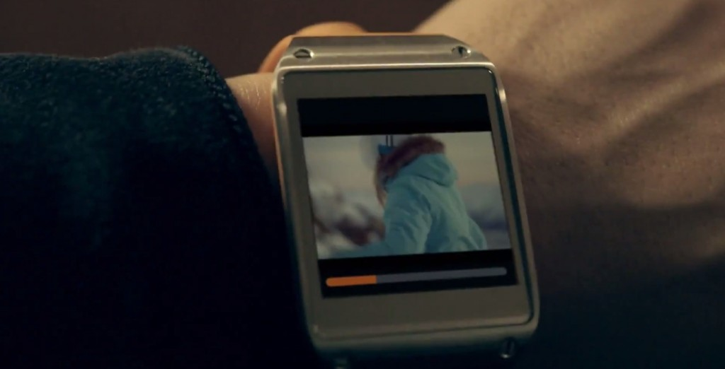 samsung galaxy gear ski commercial 2013