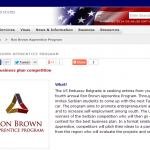 Ron Brown Apprentice Program   Embassy of the United States Serbia