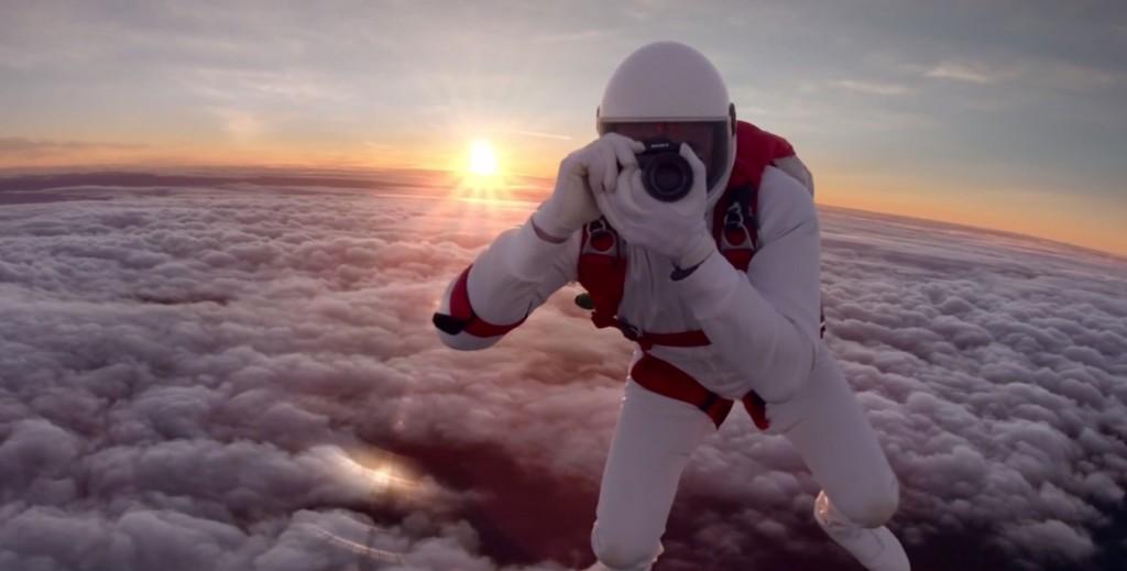 sony skydiving alpha 7 alpha 7r