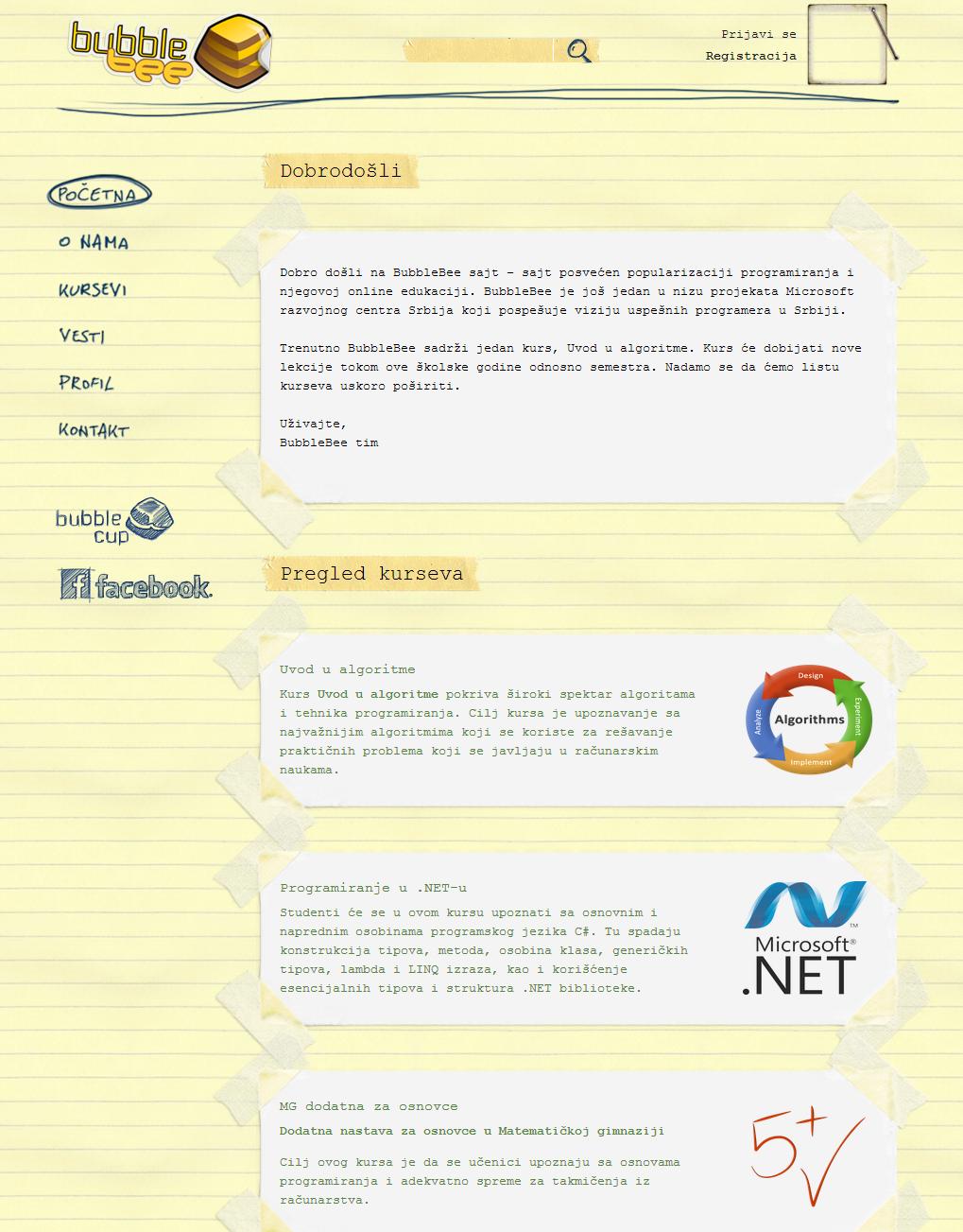 BBB Site Screenshot