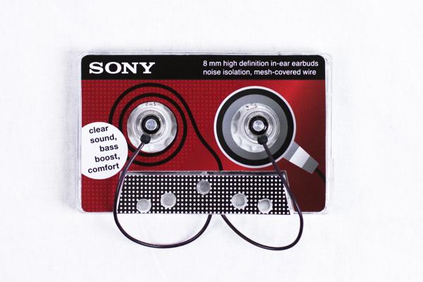Sony Earbuds Cassette 3