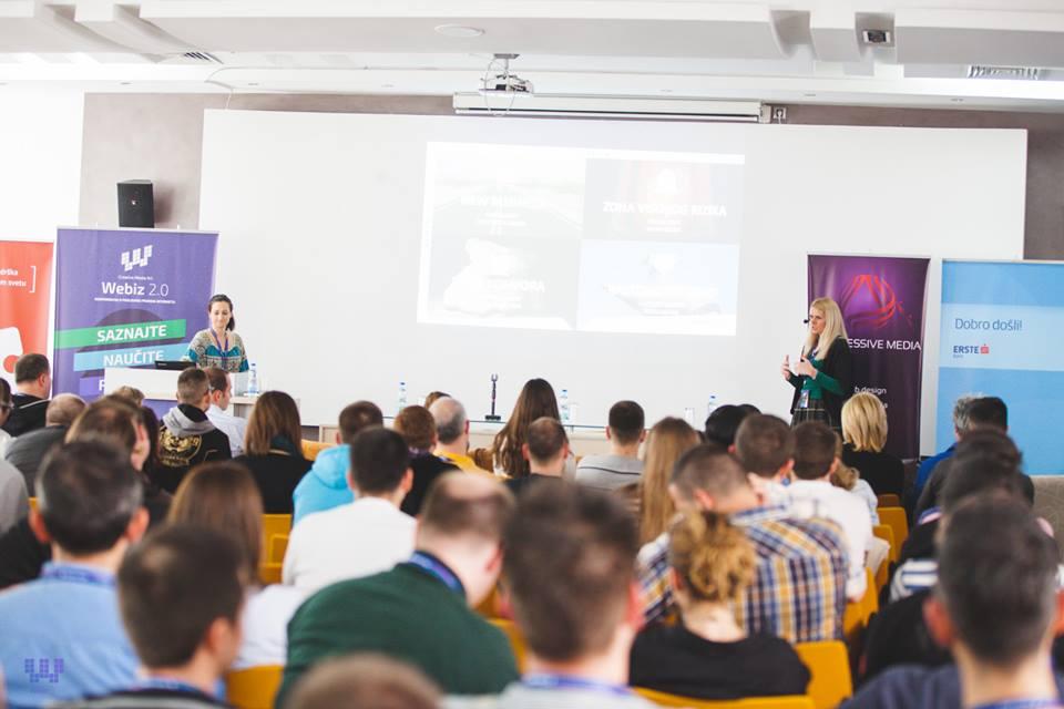 Mihalea Turner i Dragana Dišić / Foto: Webiz
