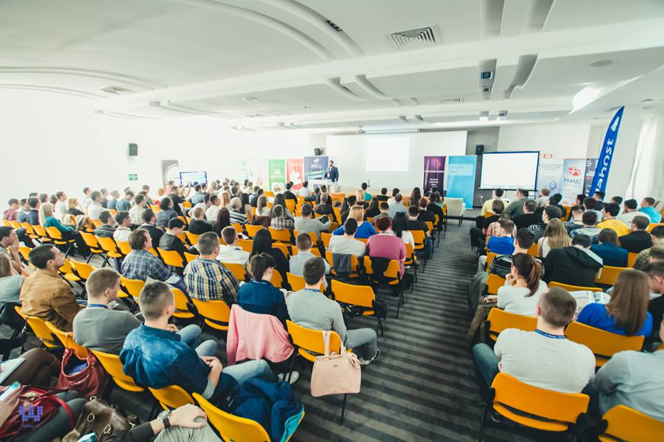 Prepuna sala prvog dana Webiz konferencije / Foto: Taborosi Photography