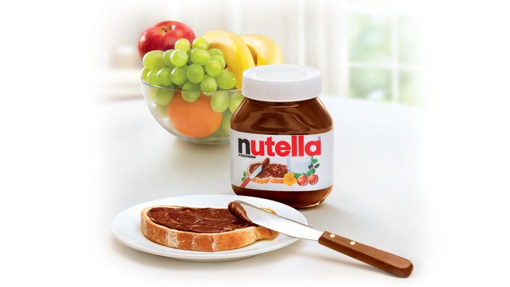 Nutella spread