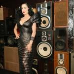 Dita Von Teese u svojoj haljini odštampanoj na 3D štampaču | Foto: shapeways.com