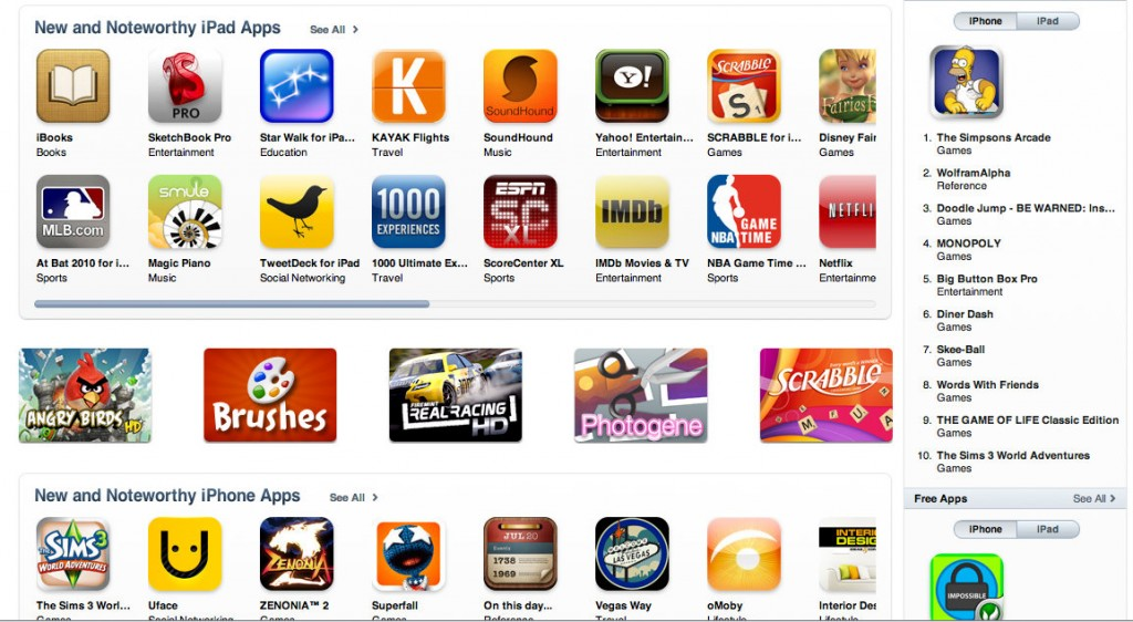 iPad-App-Store