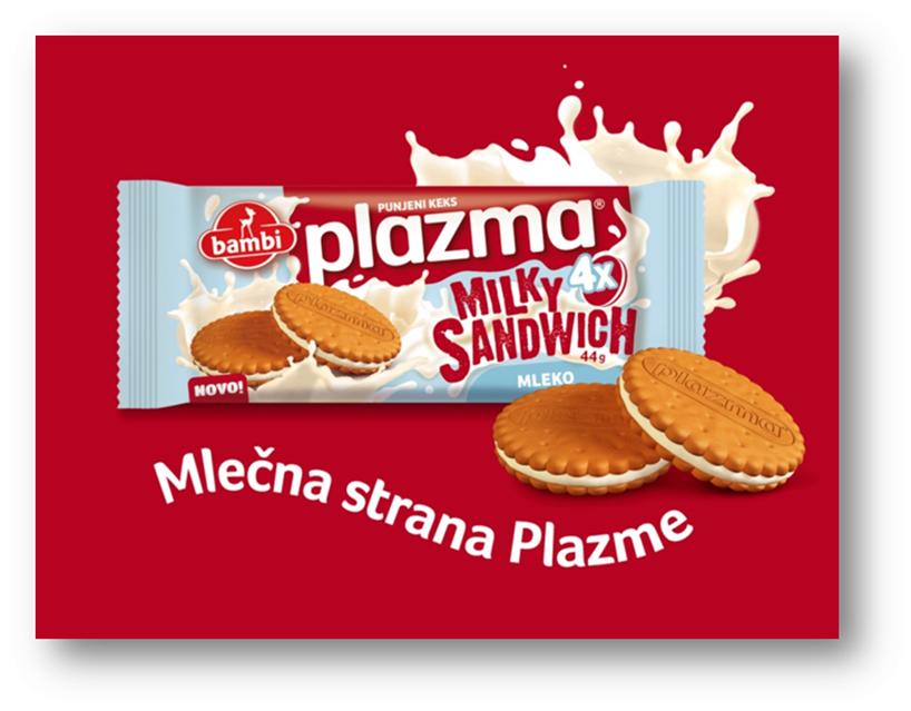 plazma milky sandwich