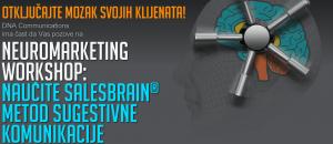 Neuromarketing radionica: Naučite SalesBrain metod sugestivne komunikacije @ Hotel Crowne Plaza | Belgrade | Serbia
