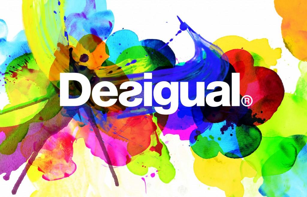 desigual logo color