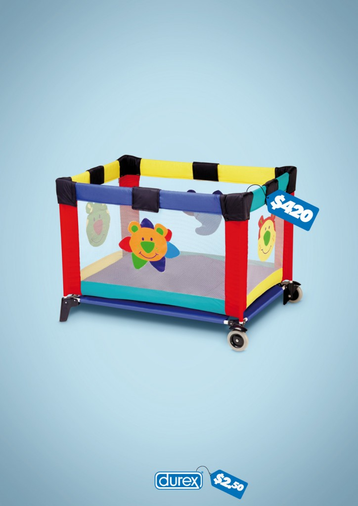 durex portable kids bed