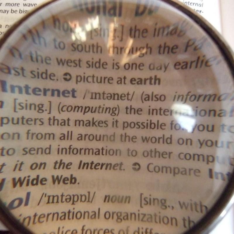 RNIDS: Mali rečnik internet pojmova za početnike