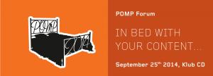 POMP Forum 2014 @ Cankarev dom | Ljubljana | Ljubljana | Slovenia