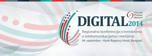 Digital 2014 @ Hotel Hyatt | Belgrade | Serbia