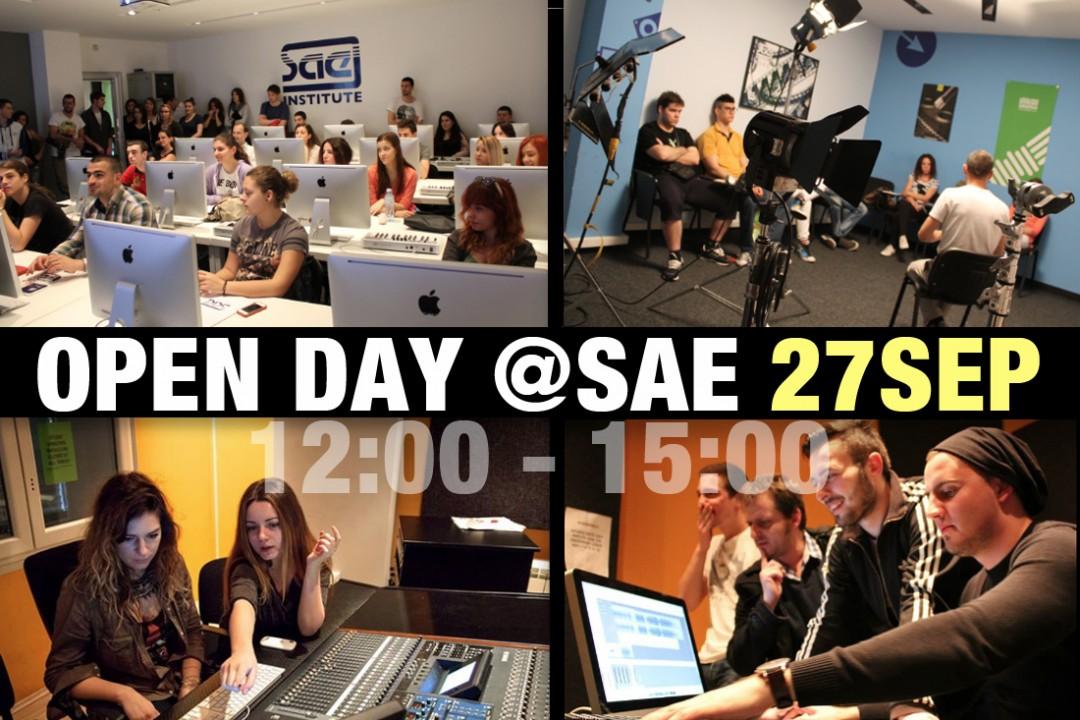 Budite student SAE Instituta na jedan dan, iskoristite Dan otvorenih vrata