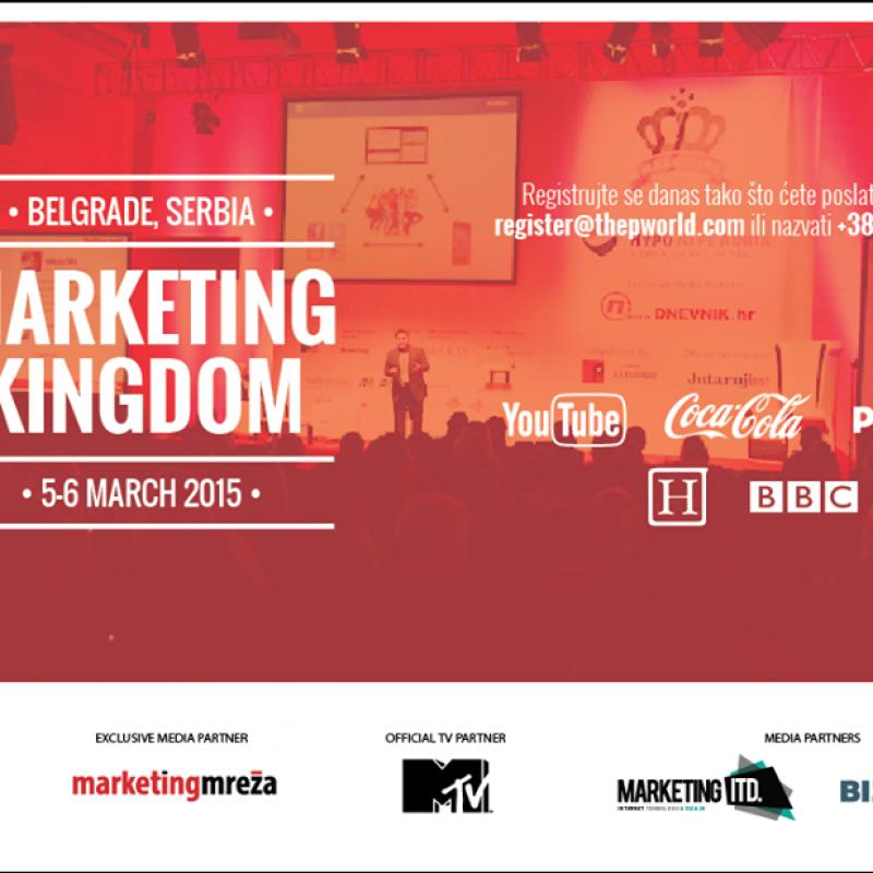[NAJAVA] Marketing Kingdom ponovo u Beogradu