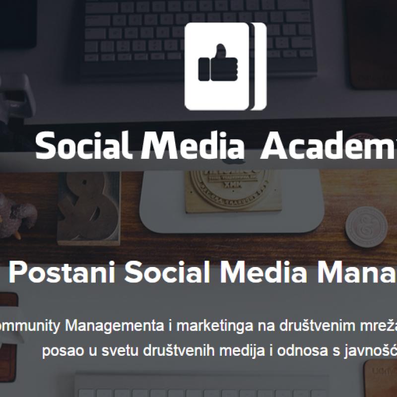 Social Media Akademija: Naučite sve o marketingu na društvenim mrežama za 6 nedelja