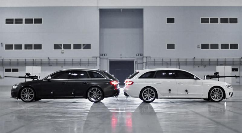 Audi RS 4 Avant Ultimate Paintball Duel