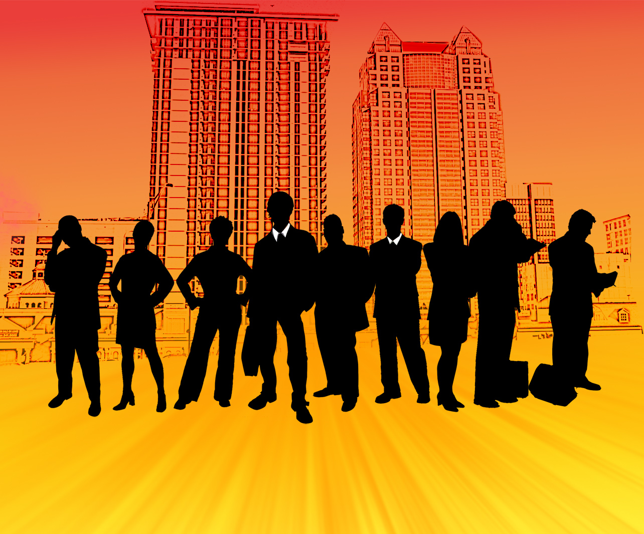 city people groups business