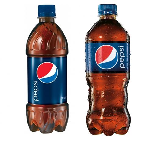 Stara i nova boca Pepsija