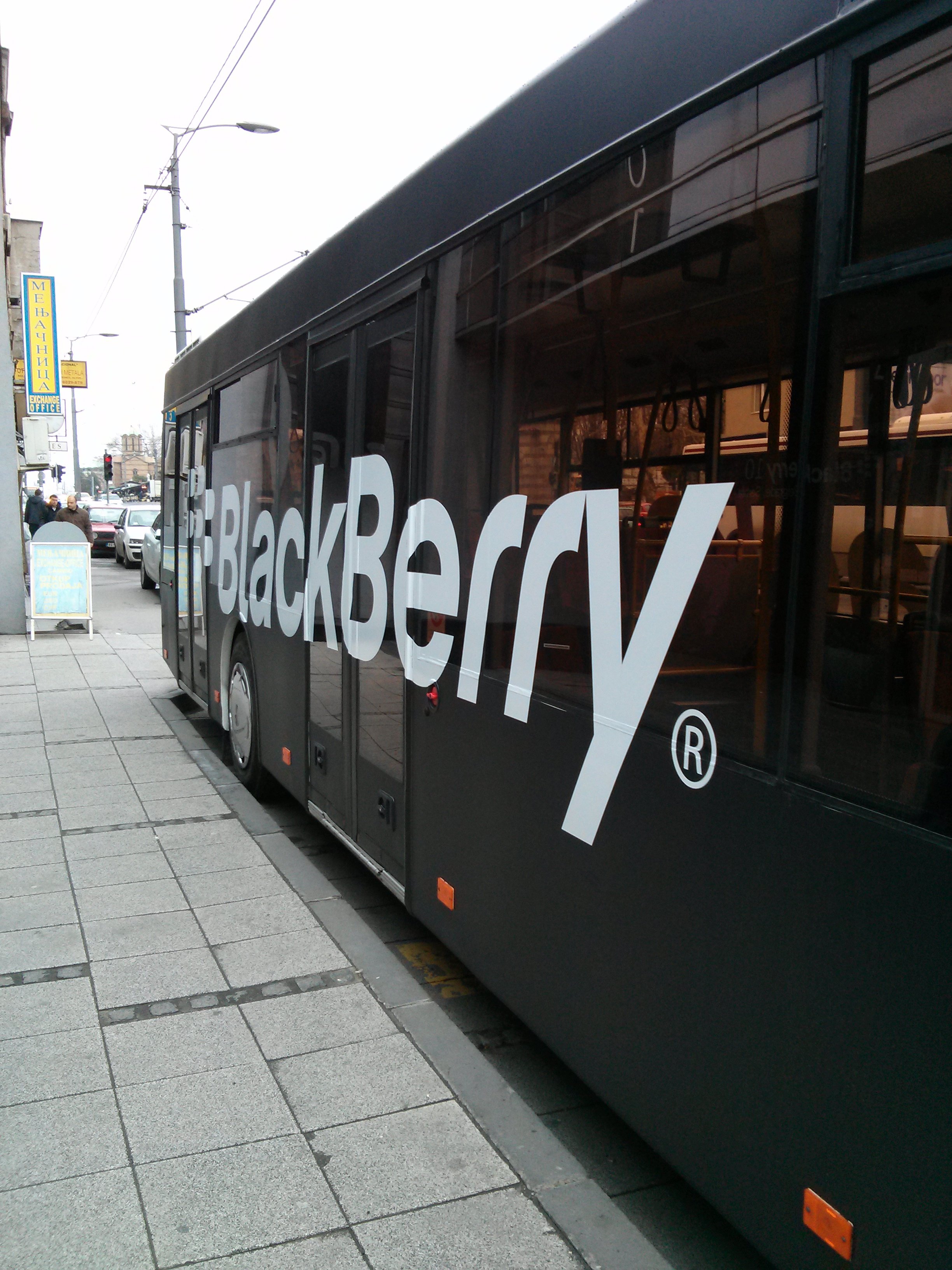 BlackBerry 10 mini Jam BB bus