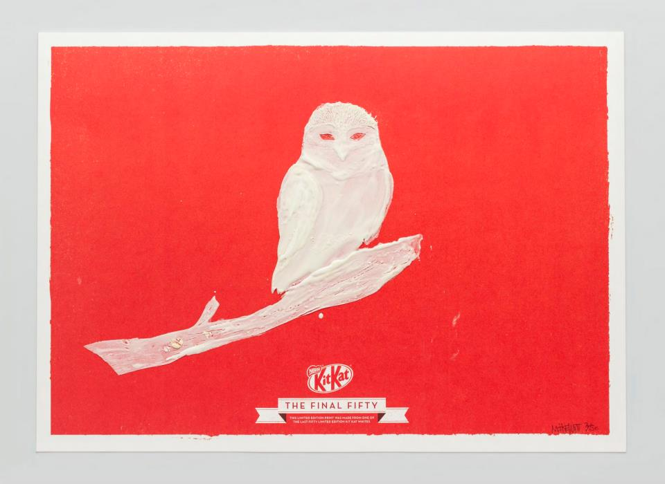 KIT KAT FINAL FIFTY Owl
