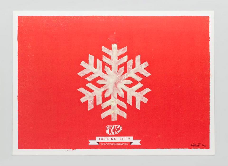 KIT KAT FINAL FIFTY Snowflake