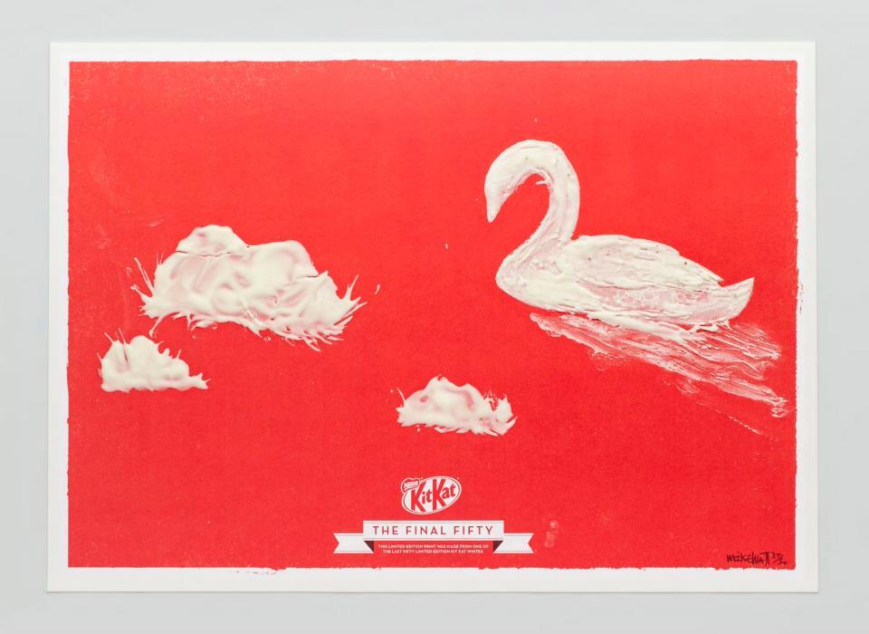 KIT KAT FINAL FIFTY Swan