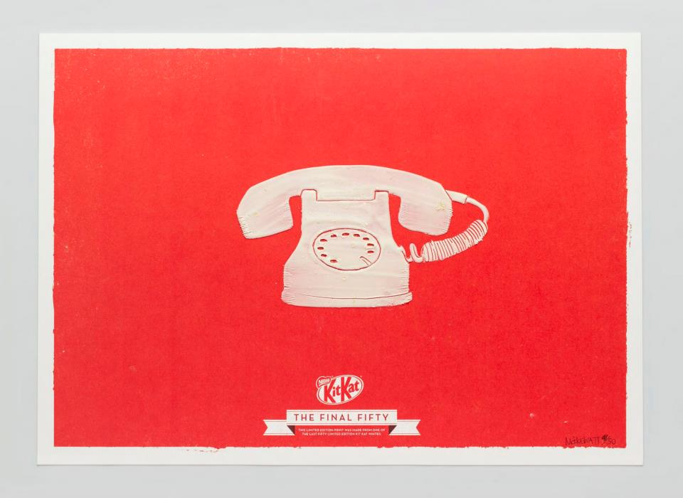 KIT KAT FINAL FIFTY Telephone