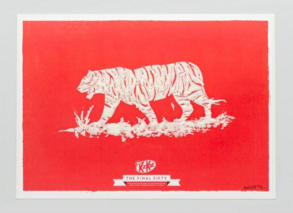 KIT KAT FINAL FIFTY Tiger