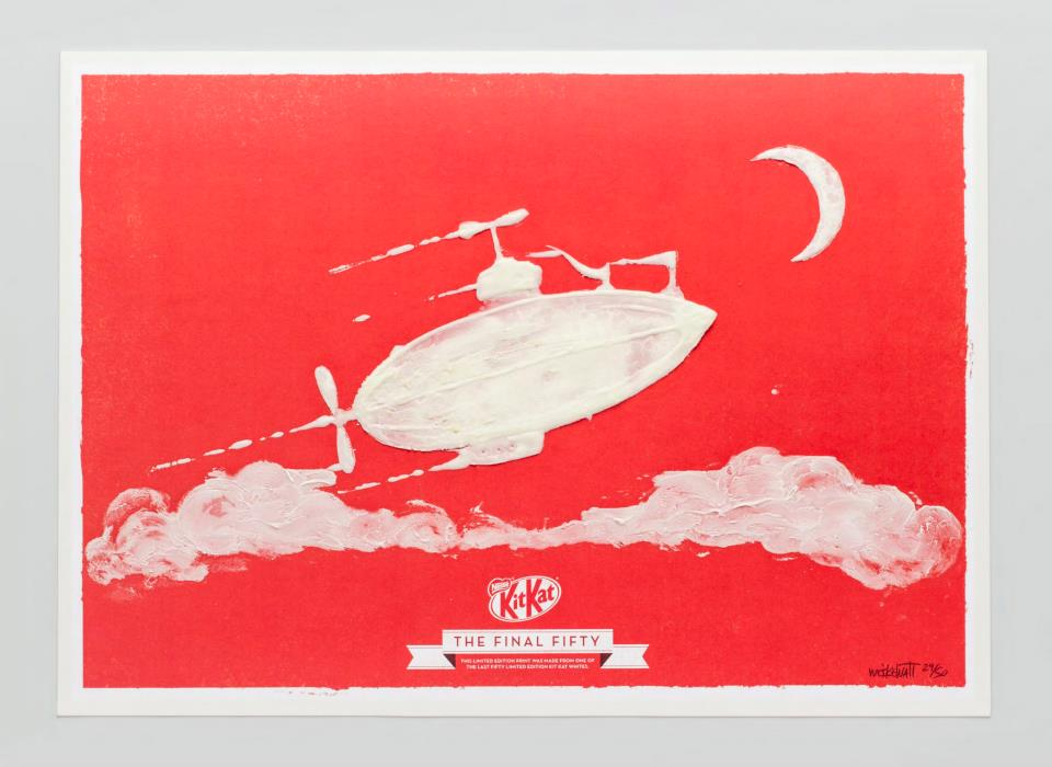 KIT KAT FINAL FIFTY Zeppelin