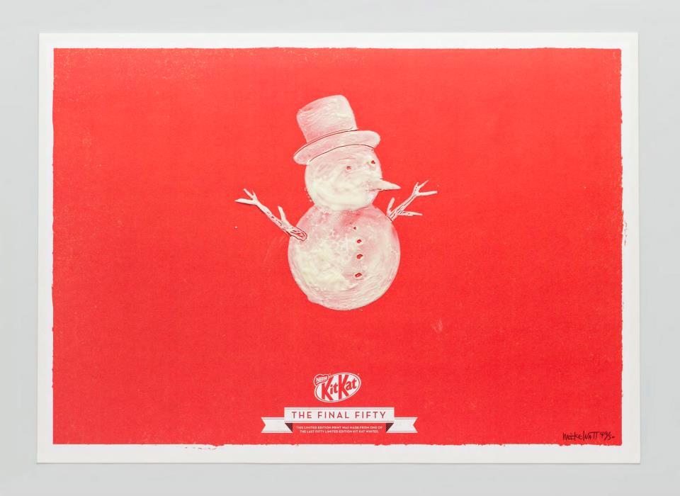 KIT KAT FINAL FORTY Snowman