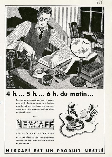 NESCAFÉ 75 YEARS 1930s 3