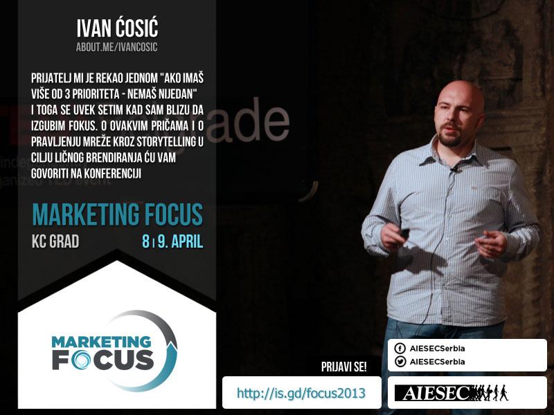 ivan cosic marketing focus