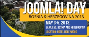 Joomla!Day Bosnia and Herzegovina 2013 @ Hotel Hollywood